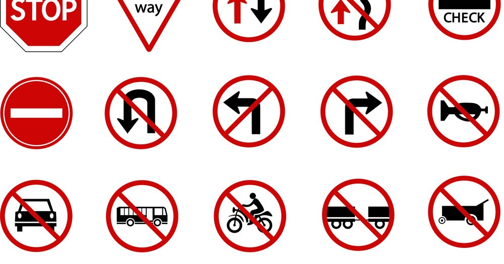 Top 15 Traffic Road Signs To Obey When Driving In Uganda