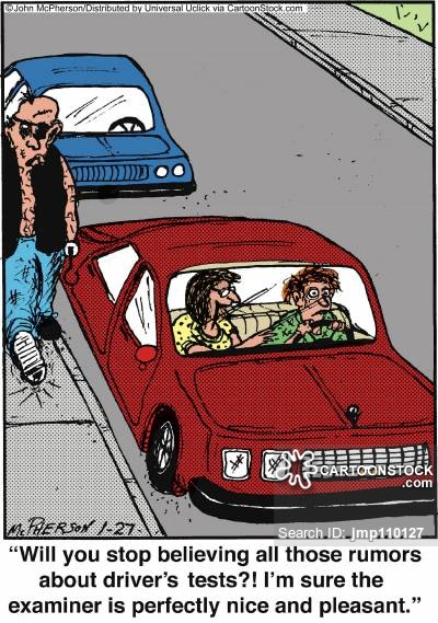 Scary Driving School Examiner